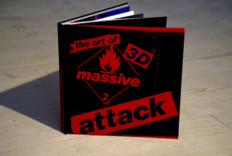<em>3D and the art of Massive Attack</em> published as 300-page hardback book with screen-printed artwork