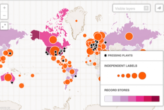 World Records: The global vinyl economy in four interactive maps