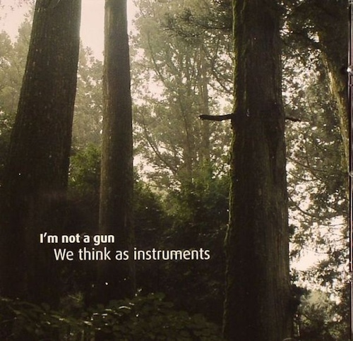 we think as instruments
