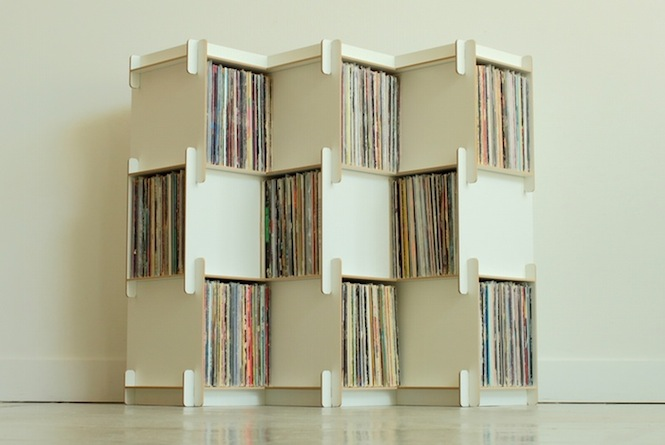 could these modular shelves be the future of record storage the vinyl factory. Black Bedroom Furniture Sets. Home Design Ideas