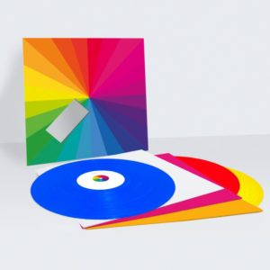 in colour vinyl