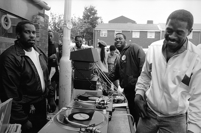 5. Alpha & Omega sound system, St Pauls Carnival, July 1991. Photo © Mark Simmons Photographyjpg