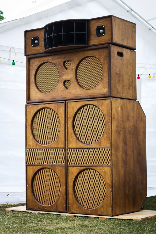 6. Heritage HiFi, built for Sound System  Culture project. Photo © Elliot Baxter