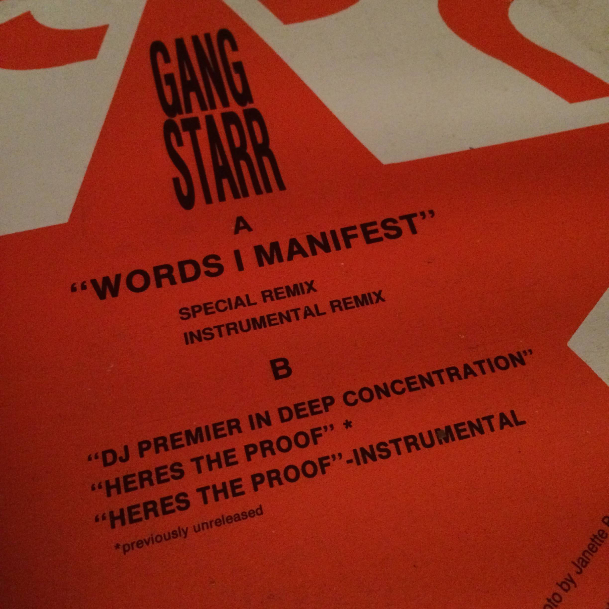 Words I Manfest Remixes