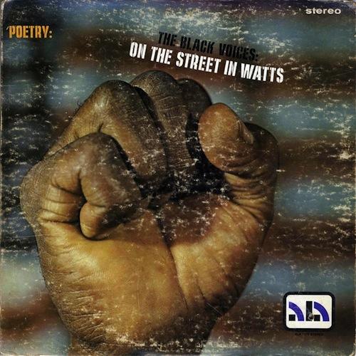 on the street in watts