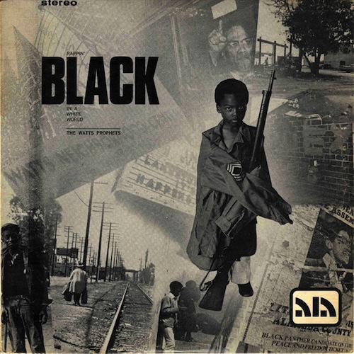 rappin black