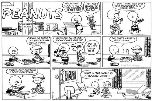 Charlie Brown on record collecting: The