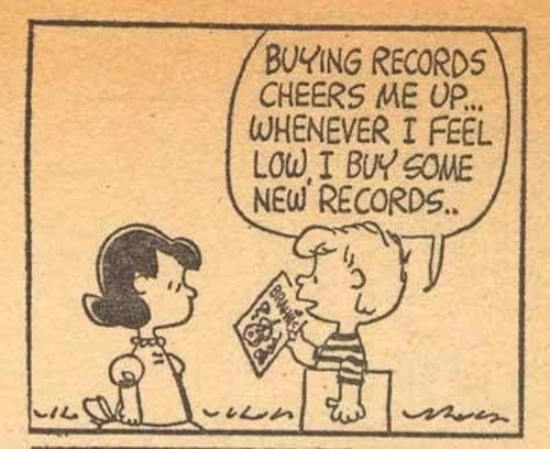 Image result for peanuts records