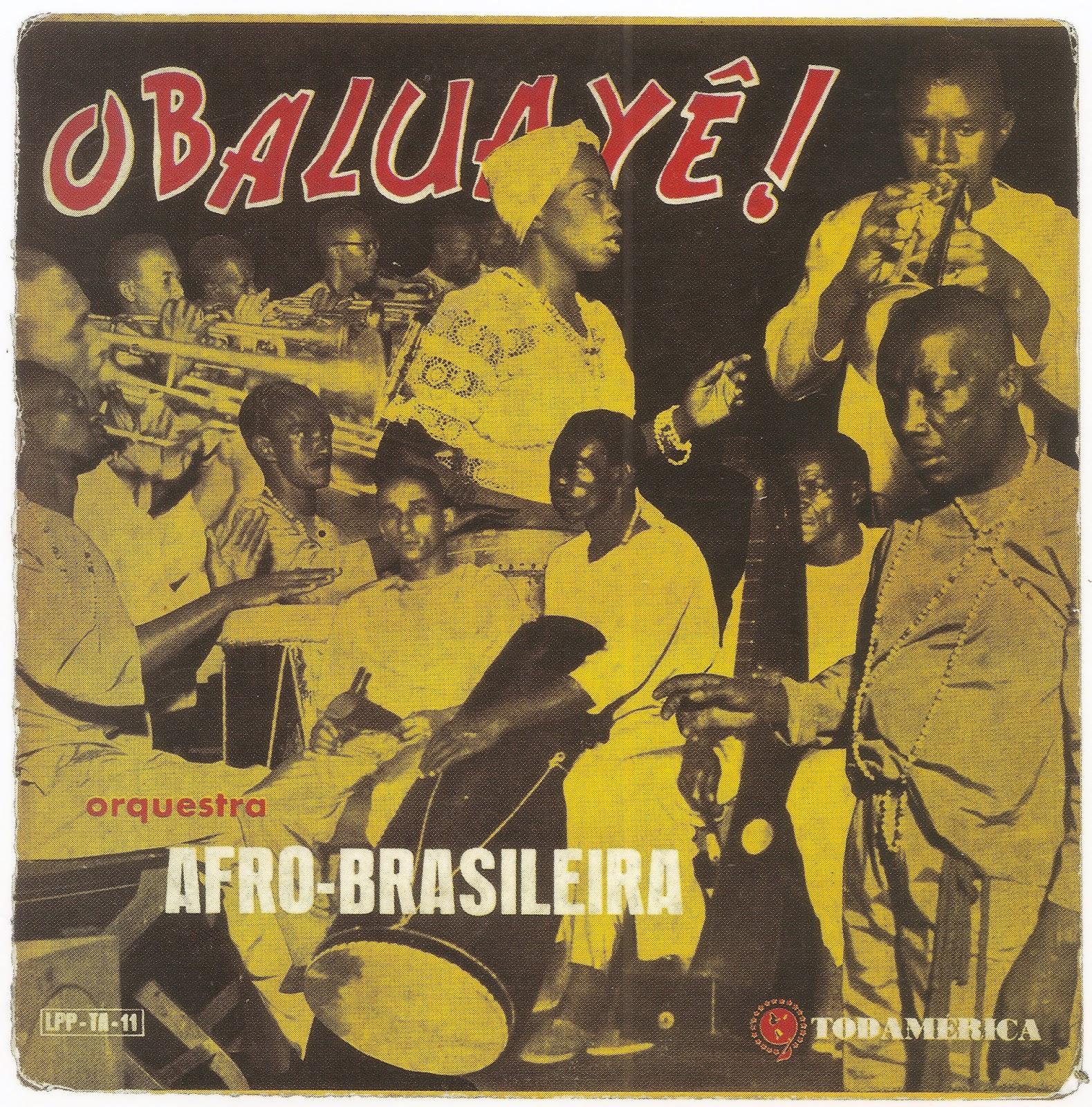 Orquestra Afro-Brasileira (1957) Obaluayê (capa 1)