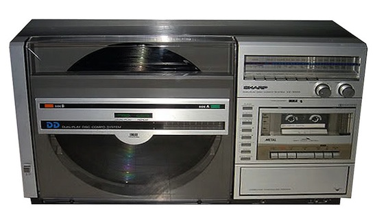 sharp_optonica_vz-3000_radio_cassette_record_player