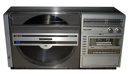 sharp_optonica_vz-3000_radio_cassette_record_player