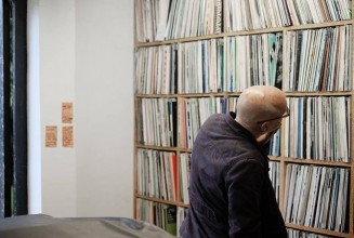 Watch Brian Eno explore John Peel's record collection