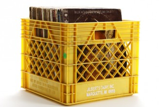 Why it's criminal to store records in milk crates