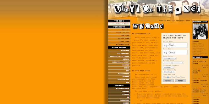 Vinyl on the.net