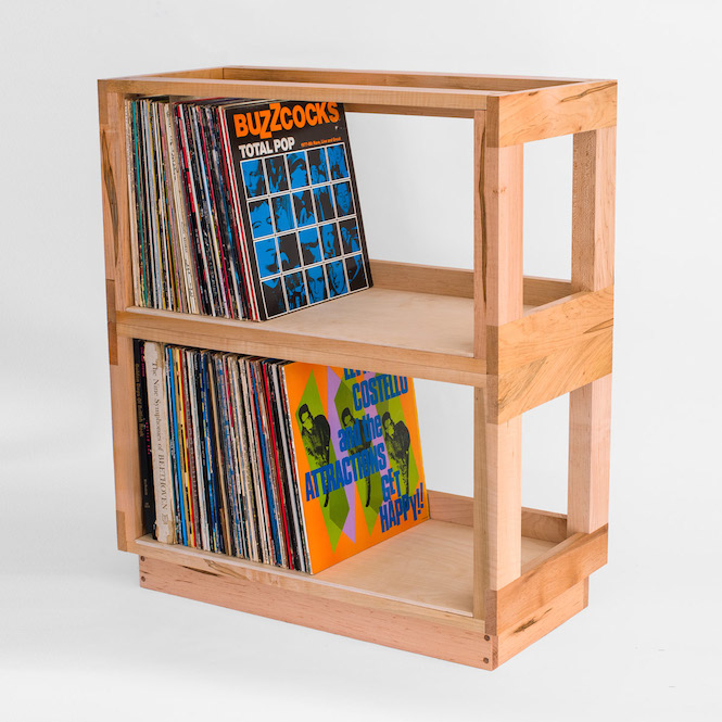 bored of ikea 12 alternative ways to store your records the vinyl rh thevinylfactory com Vinyl Record Display Shelf Vinyl Record Shelves