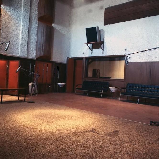 Sala de Grabación INFOPESA - 1970 copy