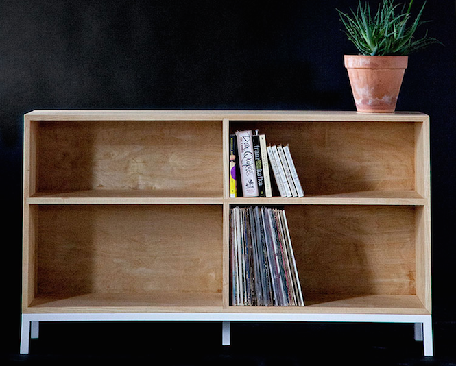 bored of ikea 12 alternative ways to store your records the vinyl rh thevinylfactory com wall shelves for record albums ikea shelves for record albums