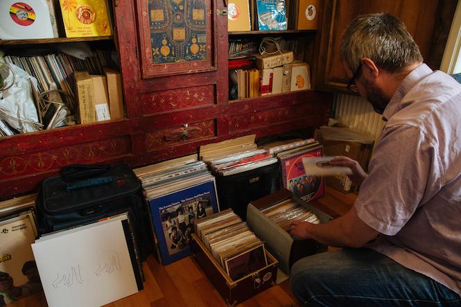 The Vinyl Factory Chris Menace Crate Diggers London