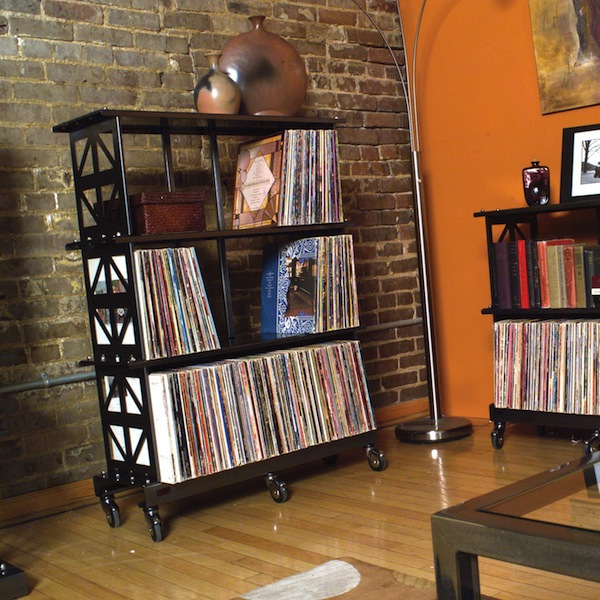 bored of ikea 12 alternative ways to store your records the vinyl rh thevinylfactory com wall shelves for record albums Vinyl Record Shelves