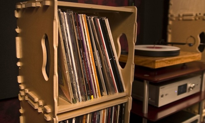 Bored Of Ikea 12 Alternative Ways To Store Your Records