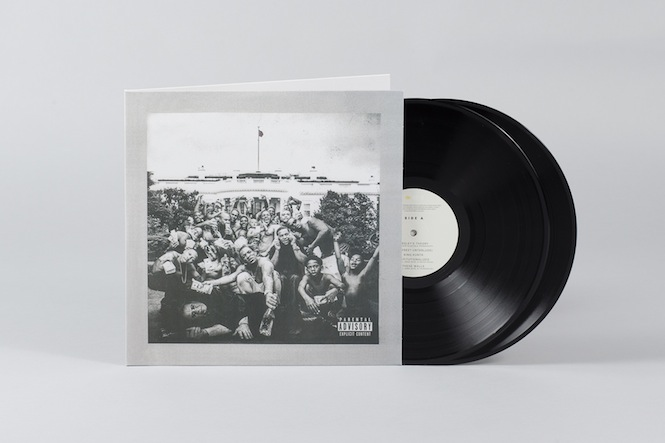 © The Vinyl Factory, Kendrick Lamar, To Pimp A Butterfly record sleeve, Photography Michael Wilkin