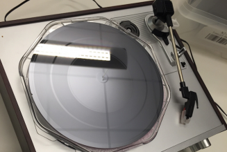 Could silicon wafer be the future of vinyl records?