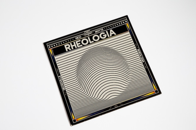 Nico Motte 'Rheologia' 12_ cover (Antinote)