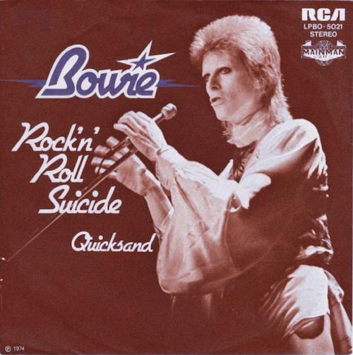 David Bowie rock n roll suicide