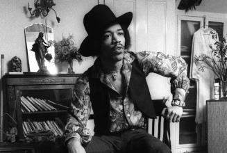 Explore Jimi Hendrix's record collection in London
