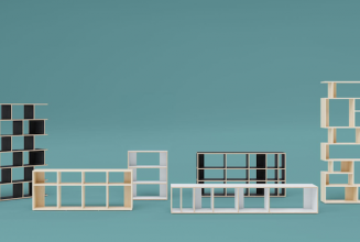 Design your own fully customisable record shelves to fit 12″s and 7″s